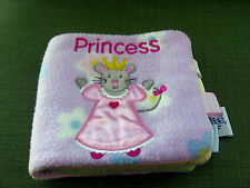"My First Taggies Book ""Princess"" 2005 Scholastic Soft Taggie  Plush Baby Book"