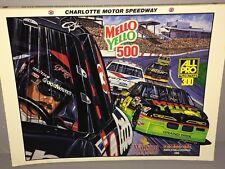 1993 NASCAR Winston Cup CHARLOTTE MELLO YELLO 500 PROGRAM Dale Earnhardt Cover