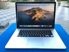 """Apple MacBook Pro 15"""" Retina - Intel i7 2.3Ghz 8GB RAM 256GB SSD - 2012 model"""