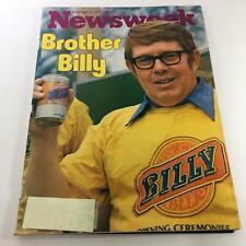 Newsweek Magazine: November 14 1977 - Brother Billy