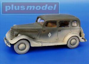 Plus Model 029 GAZ-M1 Complete kit 1/35 scale resin model kit