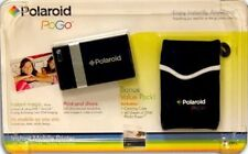 Polaroid Pogo Instant Digital Mobile Printer Plus Zink Paper & Case Bundle