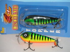 Cisco Kid Topper - Top Water Musky / Muskie Bait - 707 Fire Tiger - New