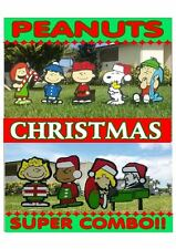 Peanuts Schroeder SUPER COMBO Christmas Yard Lawn  Decorations