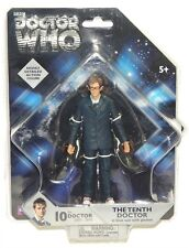 """Doctor Who 10th Tenth Doctor in Blue Suit with Glasses 5"""" Figure!"""