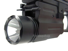 FLASHLIGHT 200 LUMENS CREE LED BULB For PISTOL AIRSOFT SERIES HUNTING