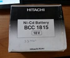 HITACHI 333-161 BATTERY BCC 1815 18 VOLTS