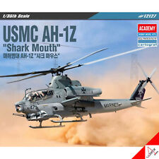 Academy 1/35 Scale USMC AH-1Z Shark Mouth Hobby Plastic model kit #12127