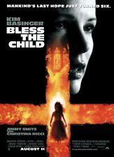 BLESS THE CHILD MOVIE POSTER ~ ORIGINAL 27x40 Kim Basinger
