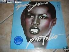 Grace Jones - Portfolio - LP 1970