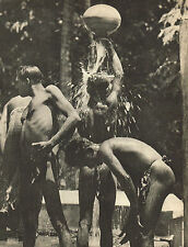 Vintage Lionel Wendt Sri Lanka Asian Men Semi Nude Male Photogravure Photo Print