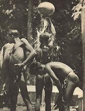 Vintage Lionel Wendt Sri Lanka Asian Men Semi Nude Male Photogravure Photo Print