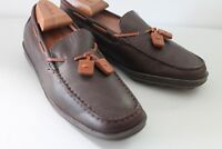 Aerosoles Loafer Shoes Womens Size 7B Slip Leather Brown
