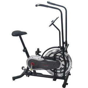 Sunny Health and Fitness SF-B2715 Zephyr Upright Air Fan Bike w/Unlimited Resist