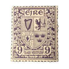 IRELAND, SCOTT # 74, 9p. VALUE VIOLET  DEFINITIVE 1922-23 ISSUE MVLH