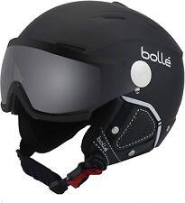 Bolle Backline Visor Helmet Soft Black & White photochromic Silver S Small