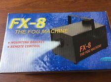 SMOKE FOG MACHINE MODEL FX-8 WITH REMOTE BRAND NEW & FOG LIQUID Lite-Works