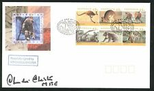 More details for 1984 - australian wildlife fdc -  kingscote pmk - signed by charley chester