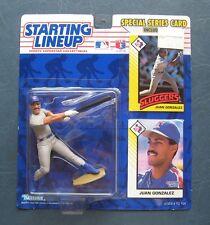 Juan Gonzalez--1993 Kenner Starting Lineup Action Figure--Texas Rangers