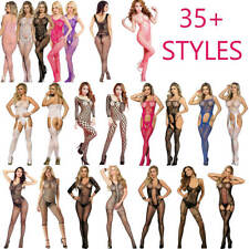 Sexy Body Stocking / All Bodystocking Sheer Lingerie Plus Size Bodysuit Catsuit