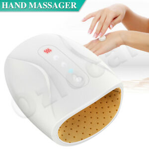 Electric Hand Massager Wrist Palm Finger Massage Numb Pain Relief Heated Therapy