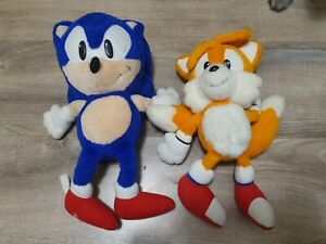 Official Sega Sonic The Hedgehog and Tails - Soft Toy / Plush / Teddys from 1992