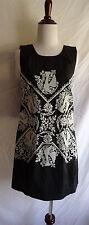 NWT Anthropologie Hazel Cross Stitch Bird Embroidered Boho Festival Dress XS