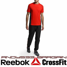 Reebok T-Shirt Men Short Sleeve PlayDry Lightweight Athletic Top Mesh Run Gym XL
