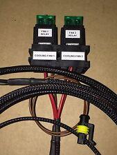 LHD Sierra & Sapphire Cosworth Twin Fan Loom including O.E Temp Connector