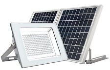 MicroSolar - Super Bright !!! - Lithium Battery - 180 LED IP65 Solar Floodlight
