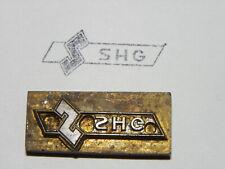 Alter Messing Stempel - SHG - Druckplatte ?     #6319