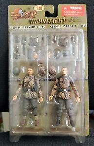Ultimate Soldier 1/18 WWII Wehrmacht German Infantry D Day 2Pk #10491