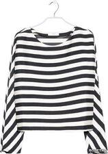 Mango MNG Oversize Stripe Black & White Top - BNWT - UK SIze 8 RRP £30