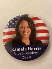 "2020 Senator Kamala Harris for Vice President 3"" Button Biden Harris Pin"