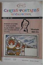 CPC Cartes Postales et Collection n°126- Monique Bruel Poisson d'avril Talma