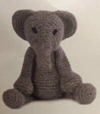 Bridget the Elephant Crochet Pattern - Level 1 Beginner CD