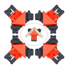 New Listing4Pc Angle Clamps 90 Degree Corner Clamps Woodworking Clamps Adjustable Woodwo.