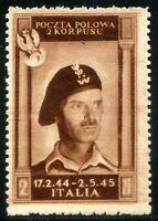 Corpo Polacco 1946 n. 8a bruno cioccolato scuro (m755)
