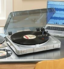 New Electro Brand USB Turntable w USB Cable & Manual All New Needle Sealed EC
