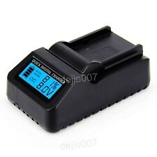 LCD Digital Quick Charger for Sony NP-F570 NP-F770 NP-F550 NP-F970 Batteries