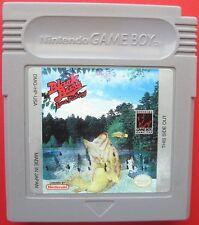 Black Bass: Lure Fishing Nintendo Game Boy *Fishing Games*
