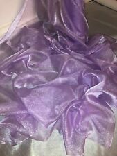 """5 MTR NEON YELLOW SPARKLING CRYSTAL ORGANZA VOILE,DECORATION,DRAPE FABRIC 45"""""""