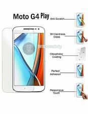 100% Shatter Proof (Anti-Explosion) Tempered Glass Protector for Moto G4 PLAY