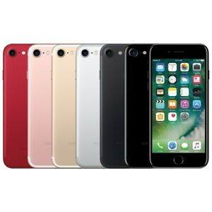 Apple iPhone 7 32GB 128GB iOS Smartphone 4G Unlocked All Colours GOOD CONDITION