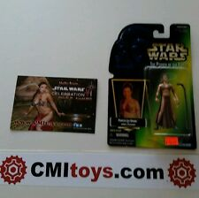 Star Wars Princess Slave Leia action figure with exclusive postcard