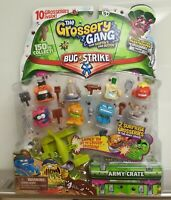 10 NEW The Grossery Gang Bug Strike Toys Best Xmas Gift Limited Edition Boys Kid