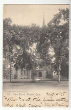 [52812] 1905 POSTCARD PARK CHURCH IN NORWICH, CONNECTICUT