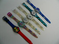 1995  Swatch Watch Artist Collection Set of 6 Special Edition