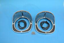 57 Chevy Headlight Bezels, 1957 -NEW-