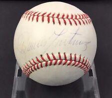 Dennis Martinez Autographed Baseball Signed Baltimore Orioles MLB Sweet Spot